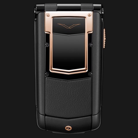 Vertu Ayxta Pure Black Red Gold Mixed