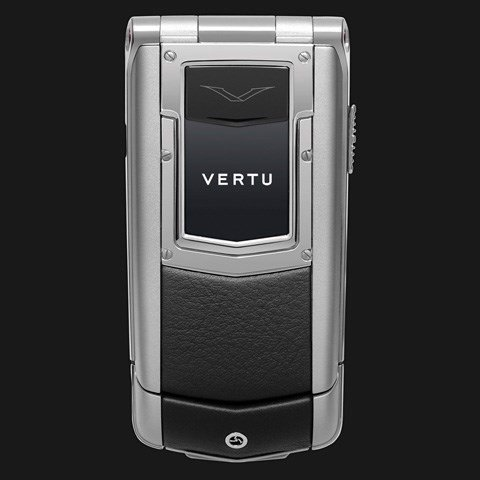 Vertu Ayxta Black Leather
