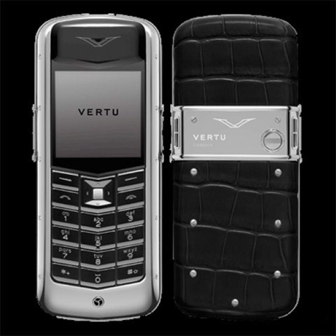 Vertu Constellation Black Alligator