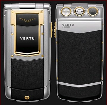 Vertu Ayxta Black Yellow Gold Ceramic Keys