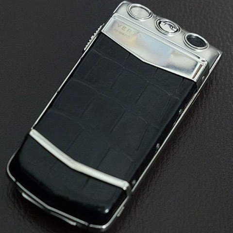 Vertu Ayxta Black Alligator Ceramic Keys