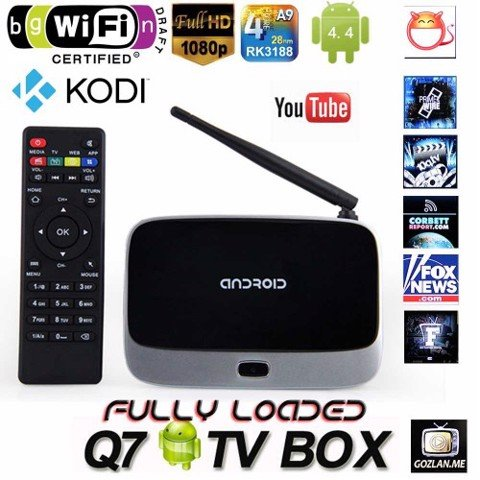 Tivi Box Android Q7 Plus