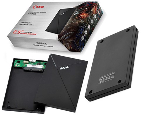 Box HDD SSK SHE-088 Sata 2.5 USB 3.0