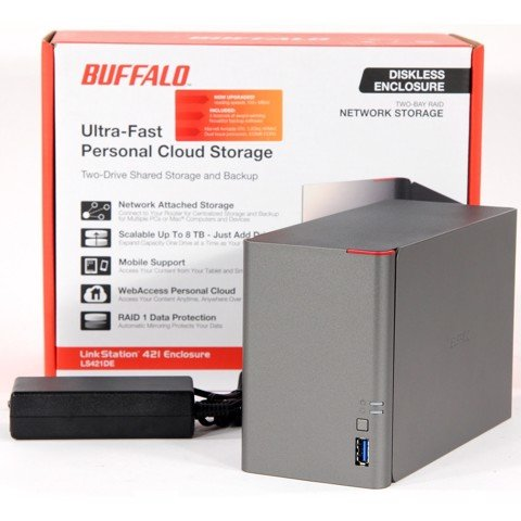 NAS BUFFALO LINKSTATION LS421DE