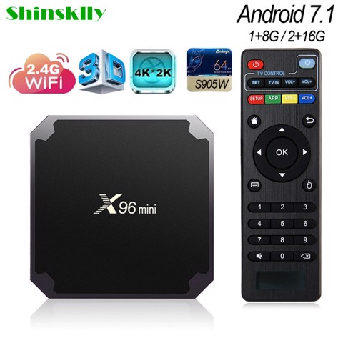 Tivi Box Android X96 Mini