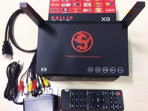 Tivi Box Android Philip X9