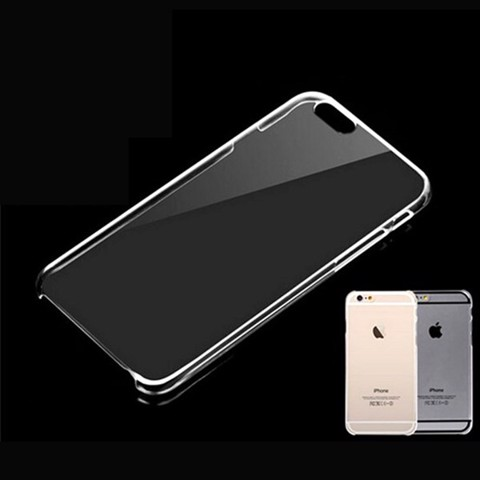 Ốp nhựa cứng Trong suốt cho iPhone
