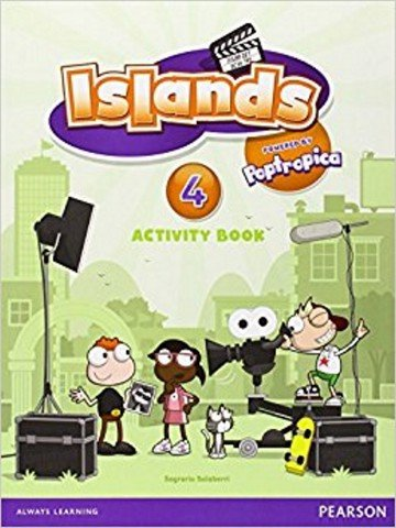 Islands Activity Book w/pin code 4
