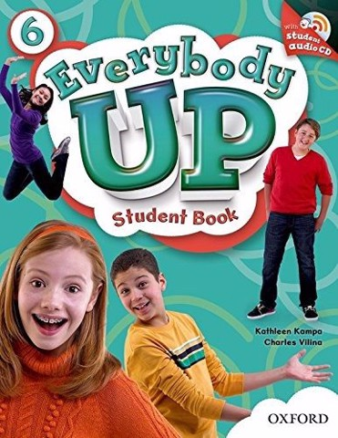 Everybody Up 6: Student Book With Audio CD Pack