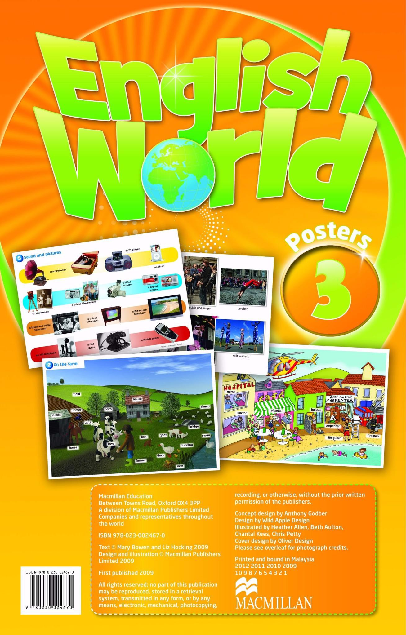 English World 3: Posters