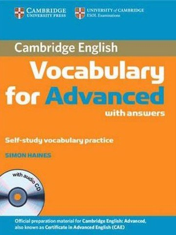 Cambridge Vocabulary for Advanced with Key and Audio CD (Cambridge English)