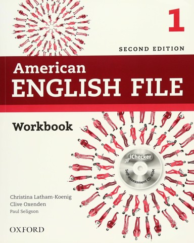 American English File (2 Ed.) 1: Workbook and iChecker