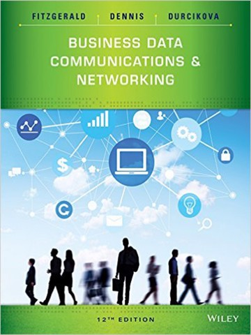 Business Data Communications and Networking 12th Edition