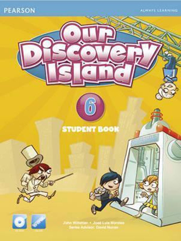 Our Discovery Island (AmE) 6: Student Book with CD-Rom