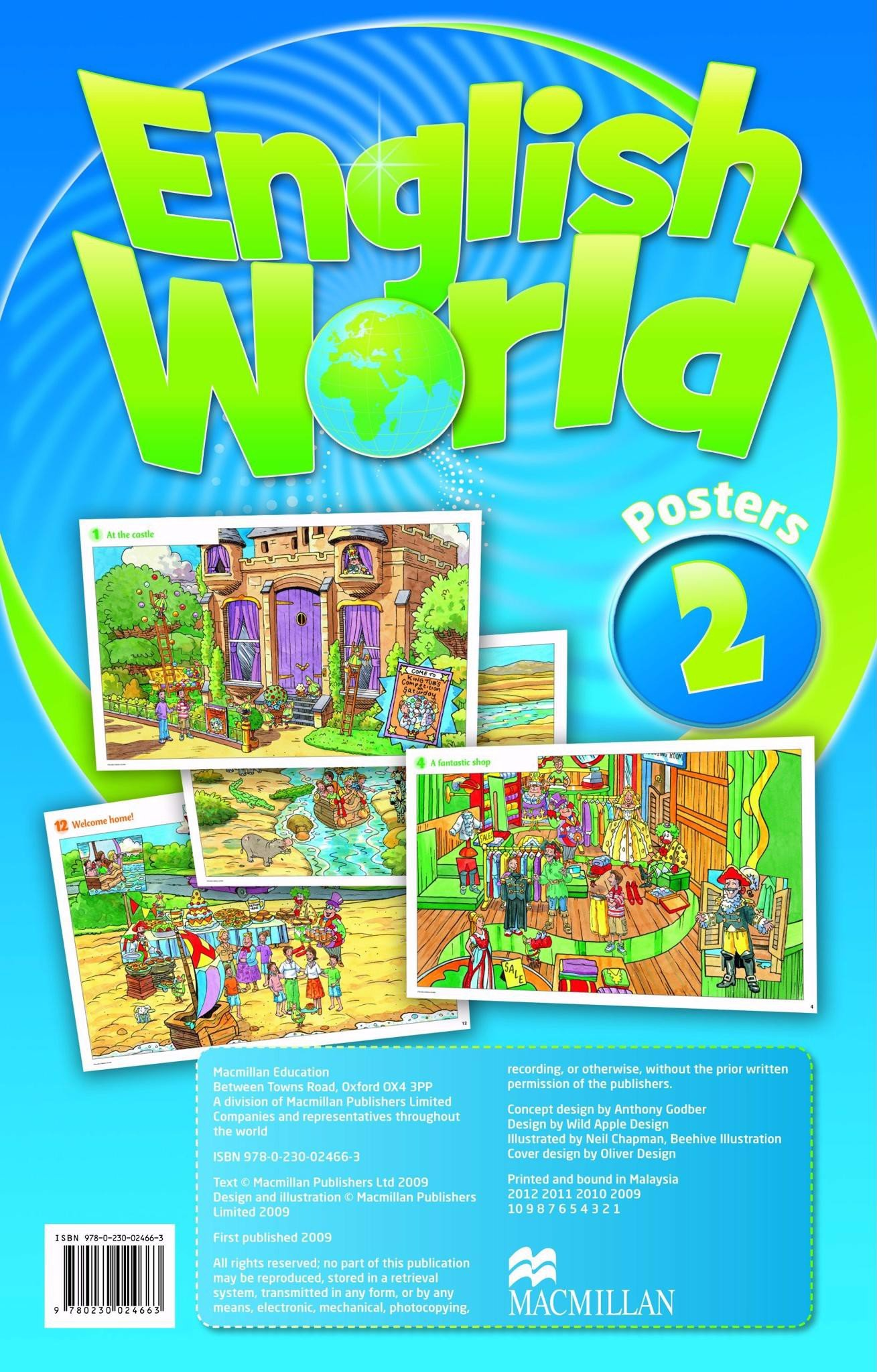 English World 2: Posters