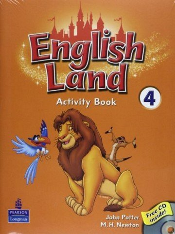 English Land 4: Activity Book with CD
