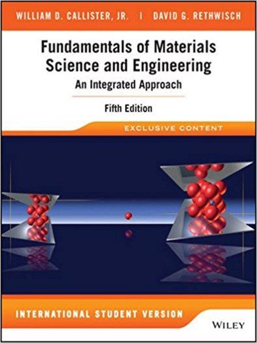 Fundamentals of Materials Science and Engineering 5E ISV