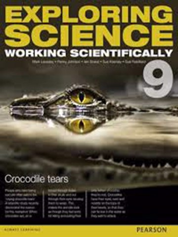 Exploring Science Working Scientifically student book 9