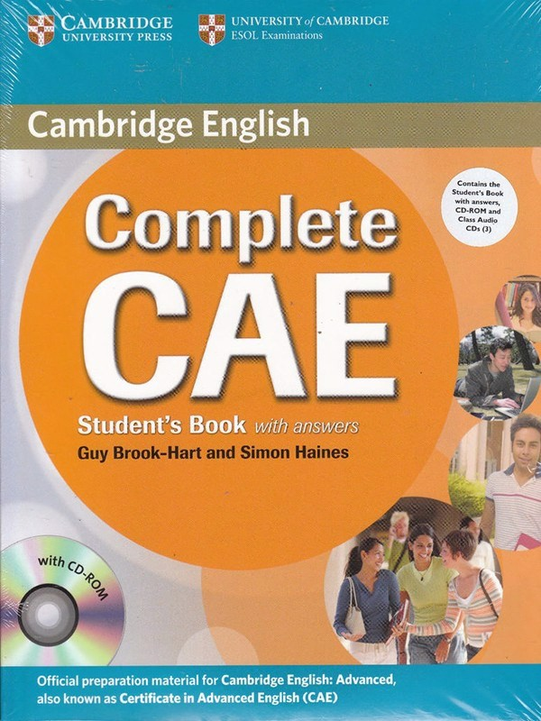 Complete CAE: Student Book with key with CD-ROM with Class Audio CDs (3)