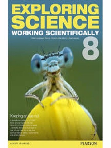 Exploring Science Working Scientifically student book 8