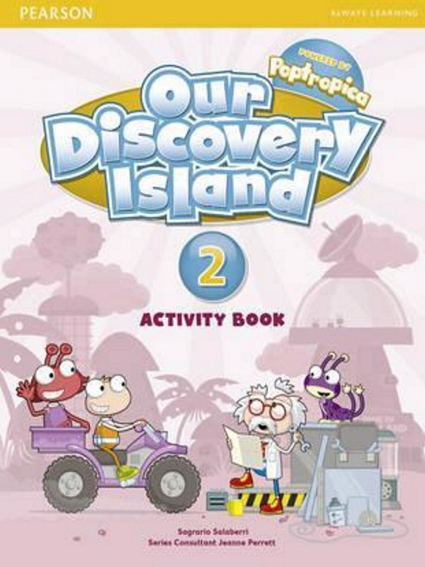 Our Discovery Island (BrE) 2: Activity book w/ CD-ROM