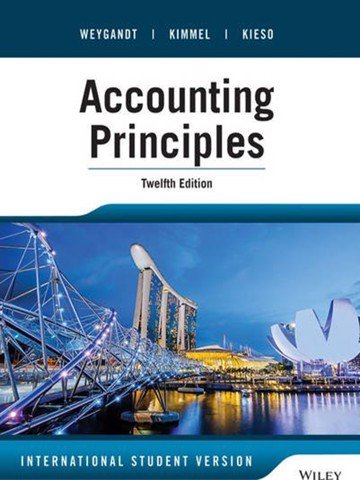 Accounting Principles, 12th edition, International Student version