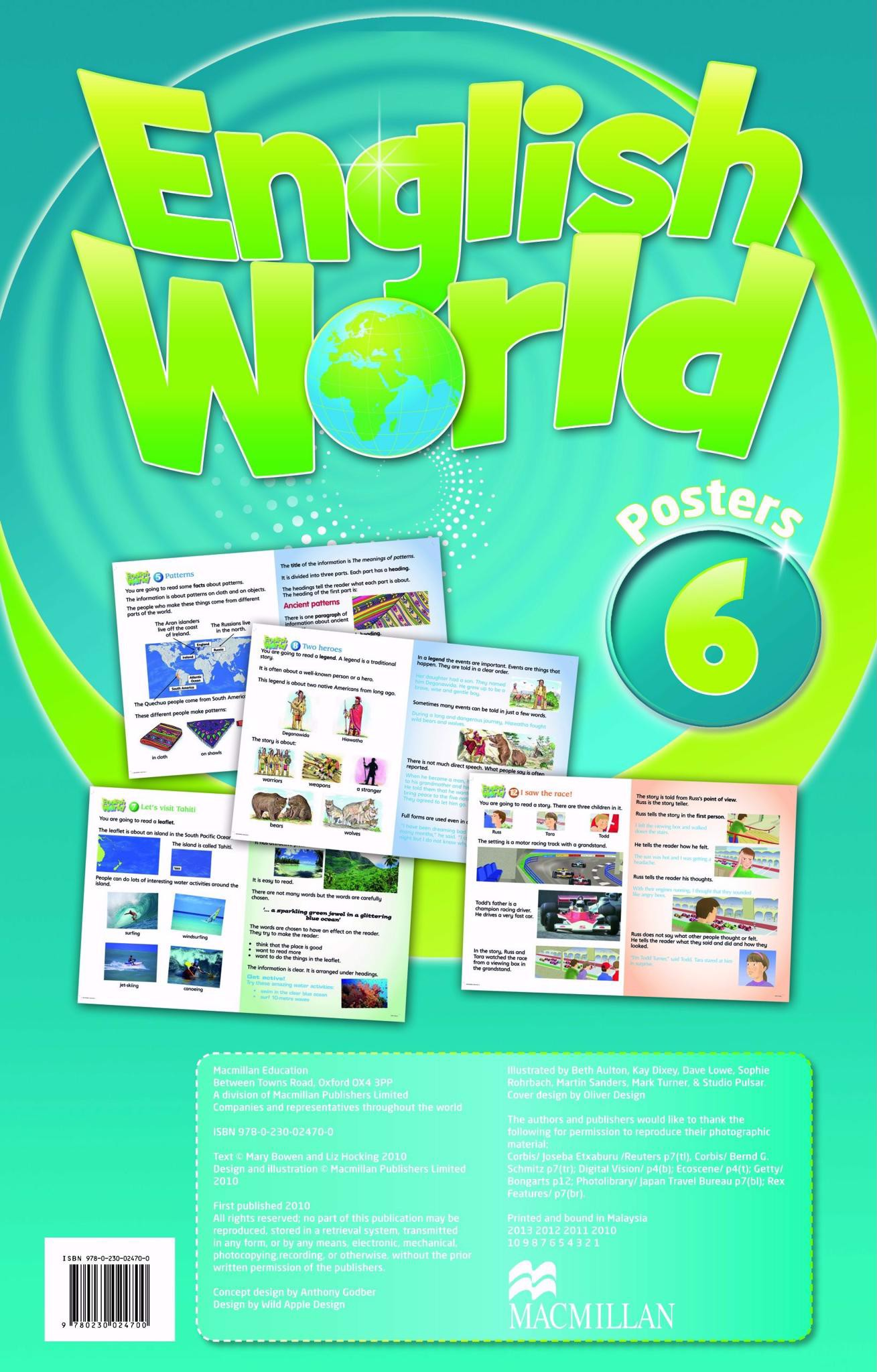 English World 6: Posters