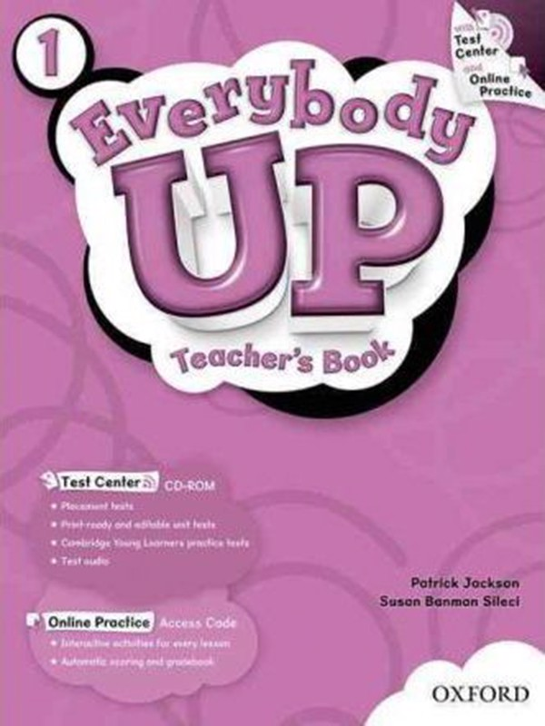 Everybody Up: 1: Teacher's Book with Test Center CD-ROM