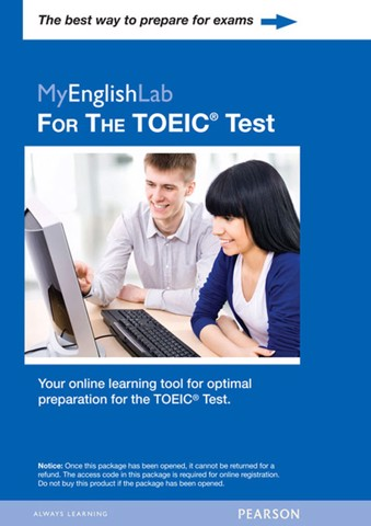 Longman Preparation TOEIC (5 Ed.): MyEnglishLab Access Code Card