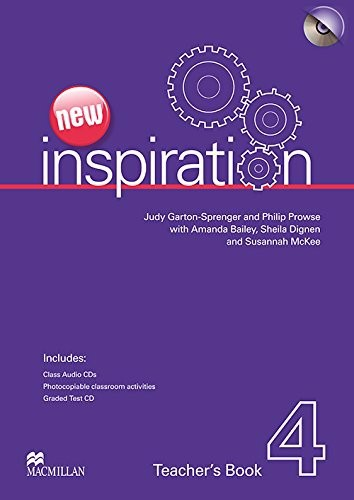 New Inspiration 4: Teacher Book with Test CD Pack