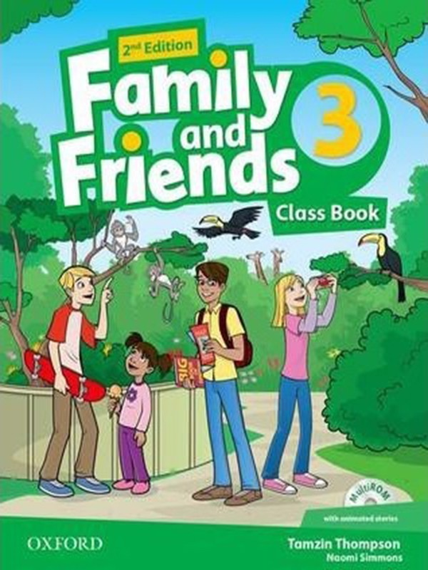Family and Friends: Class Book and multiROM Pack: Level 3