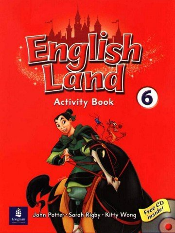 English Land 6: Activity Book with CD