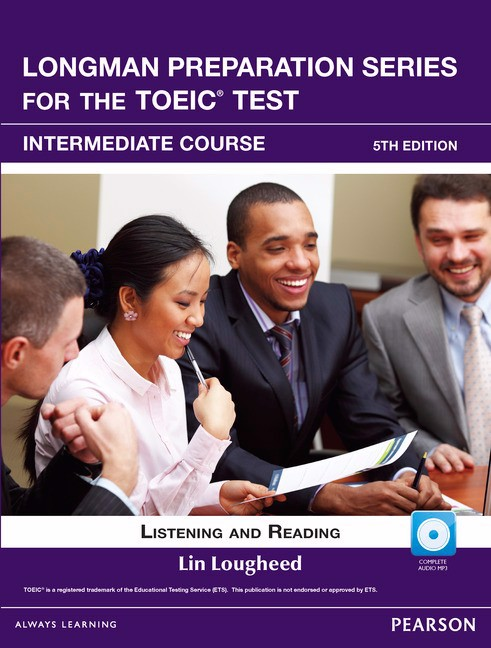 Longman Preparation TOEIC (5 Ed.) VN Inter: Student book with I-Test - 8936049423703