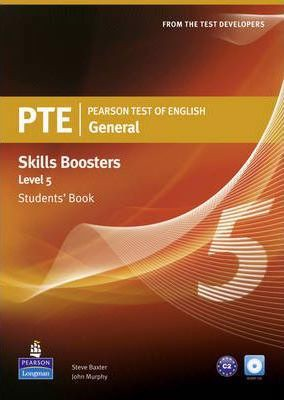 Pearson Test of English General Skills Booster 5 Students' Book and CD Pack (Pearson Tests of English)