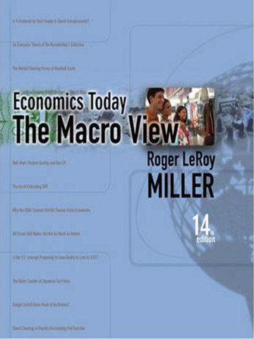 Economics Today: The Macro View, 14e