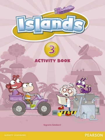 Islands Activity Book w/pin code 3