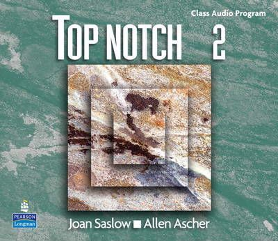 Top Notch 2: Class Audio CD Program