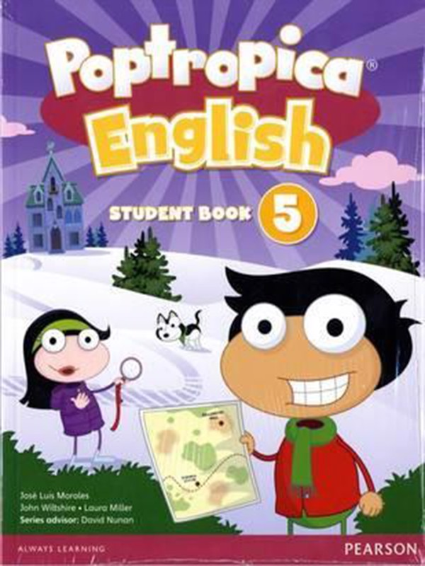 Poptropica English 5 Student Book & Online World Access Card Pack