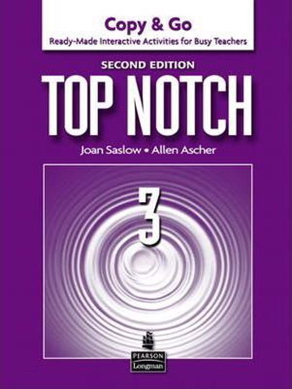 Top Notch (2 Ed.) 3: Copy & Go