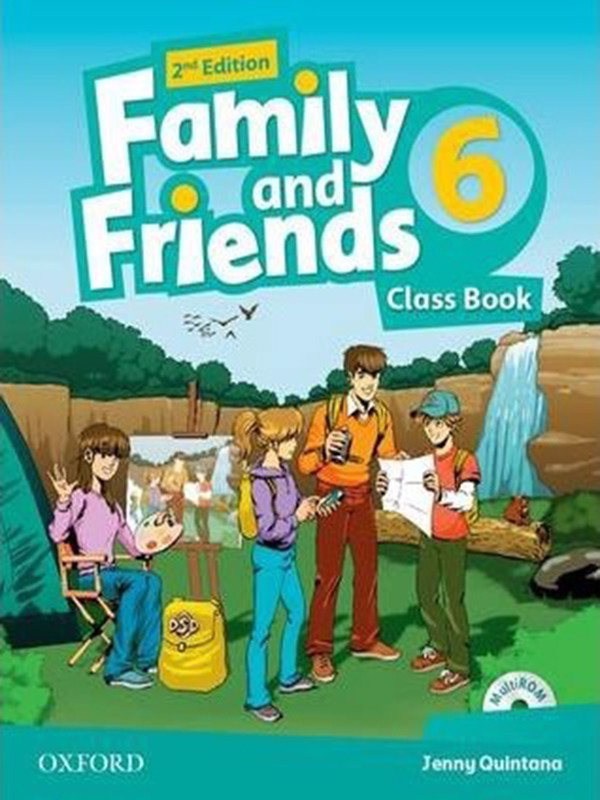 Family and Friends: Class Book with Student MultiROM: Level 6