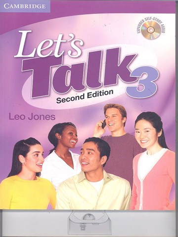 Let talk (2 Ed.) 3: Student book self-Study Audio CD