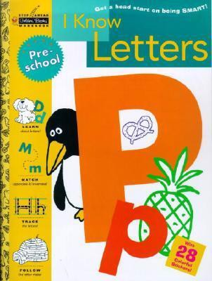 I Know Letters (Step Ahead Golden Books Workbook)