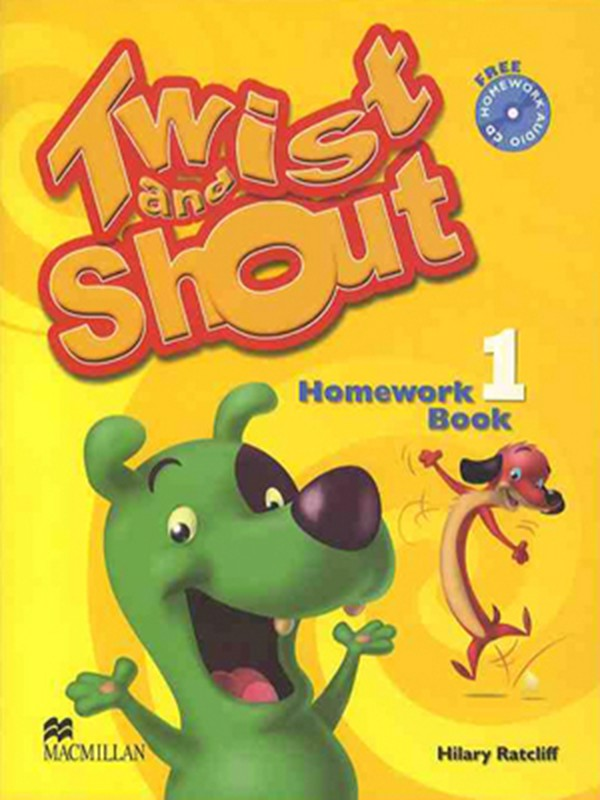 Twist & Shout 1: Homework Book with Audio CD