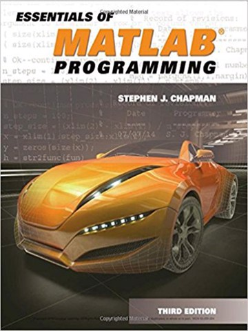 Essentials of MATLAB Programming