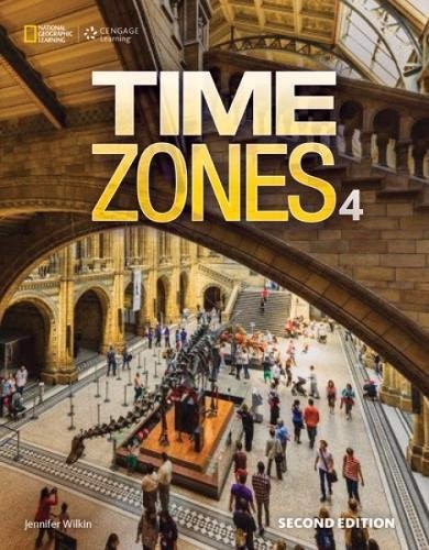 Time Zones (2 Ed.) 4: Student Book & Olwb Sticker Code