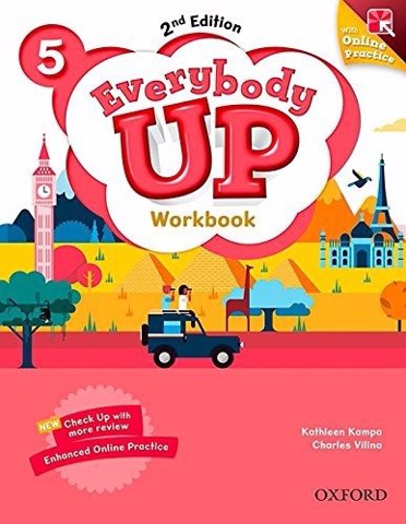 Everybody Up (2 Ed.) 5: Workbook with Online Practice