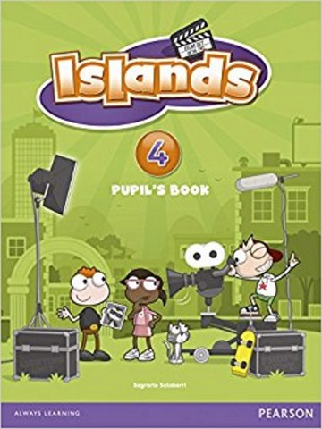 Islands Pupil's Book w/pin code 4