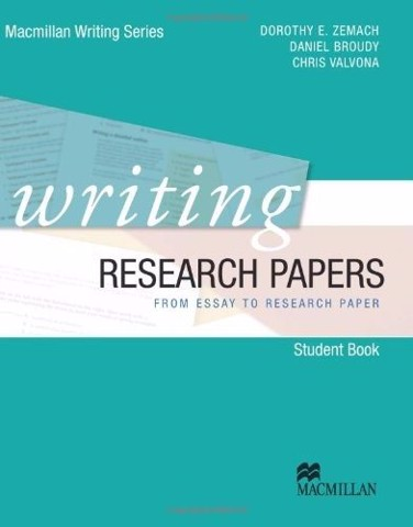 Macmillan Writing Series Writing Research Papers