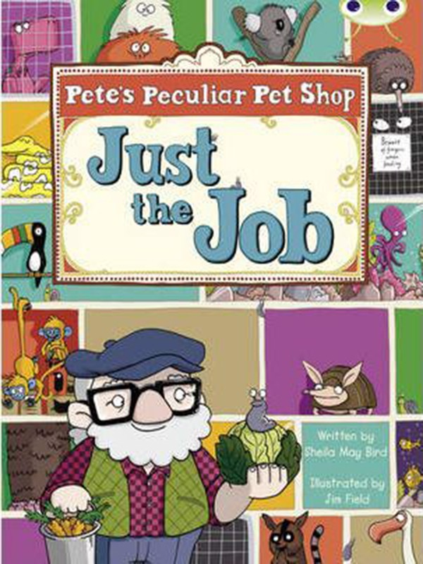 Pete's Peculiar Pet Shop: Just the Job (Turquoise B) (Bug Club)