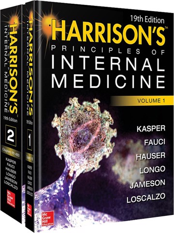 Harrison's Principles of Internal Medicine 19/E (Vol.1 & Vol.2)